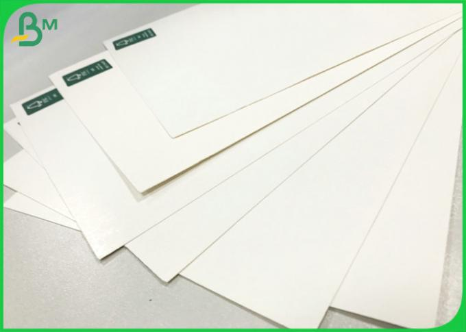 SBS & FBB White Cardboard 230 gsm to 400 gsm G1S Paper For Invisible Sock Packaging