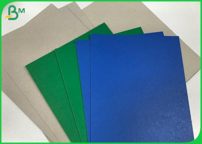 Blue / Green / Red Cardboard 1.2mm 1.4mm 2mm Lacquered Finish Solid Paperboard